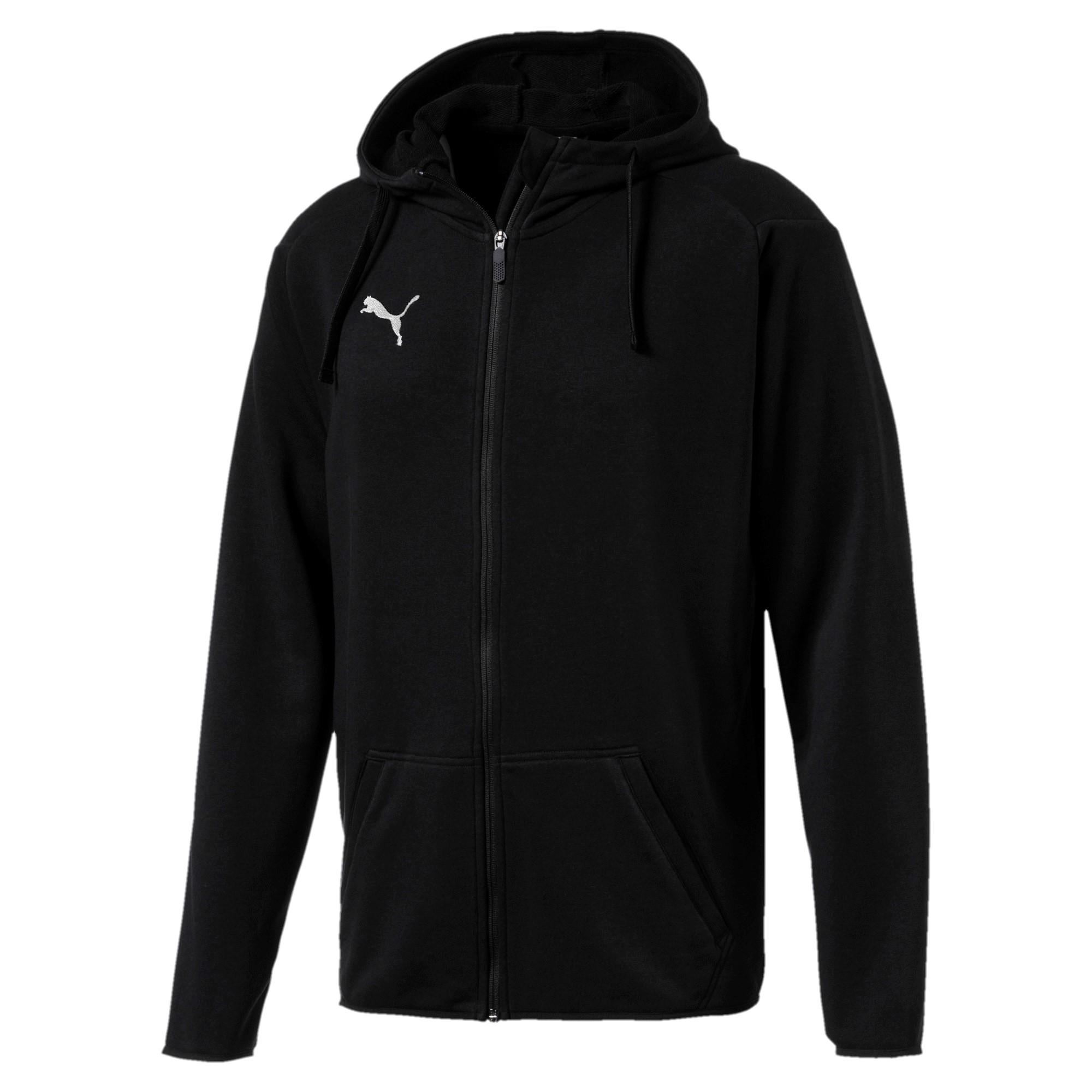 Ligua Casual Hoody Jacket black (prix adultes/ juniors)