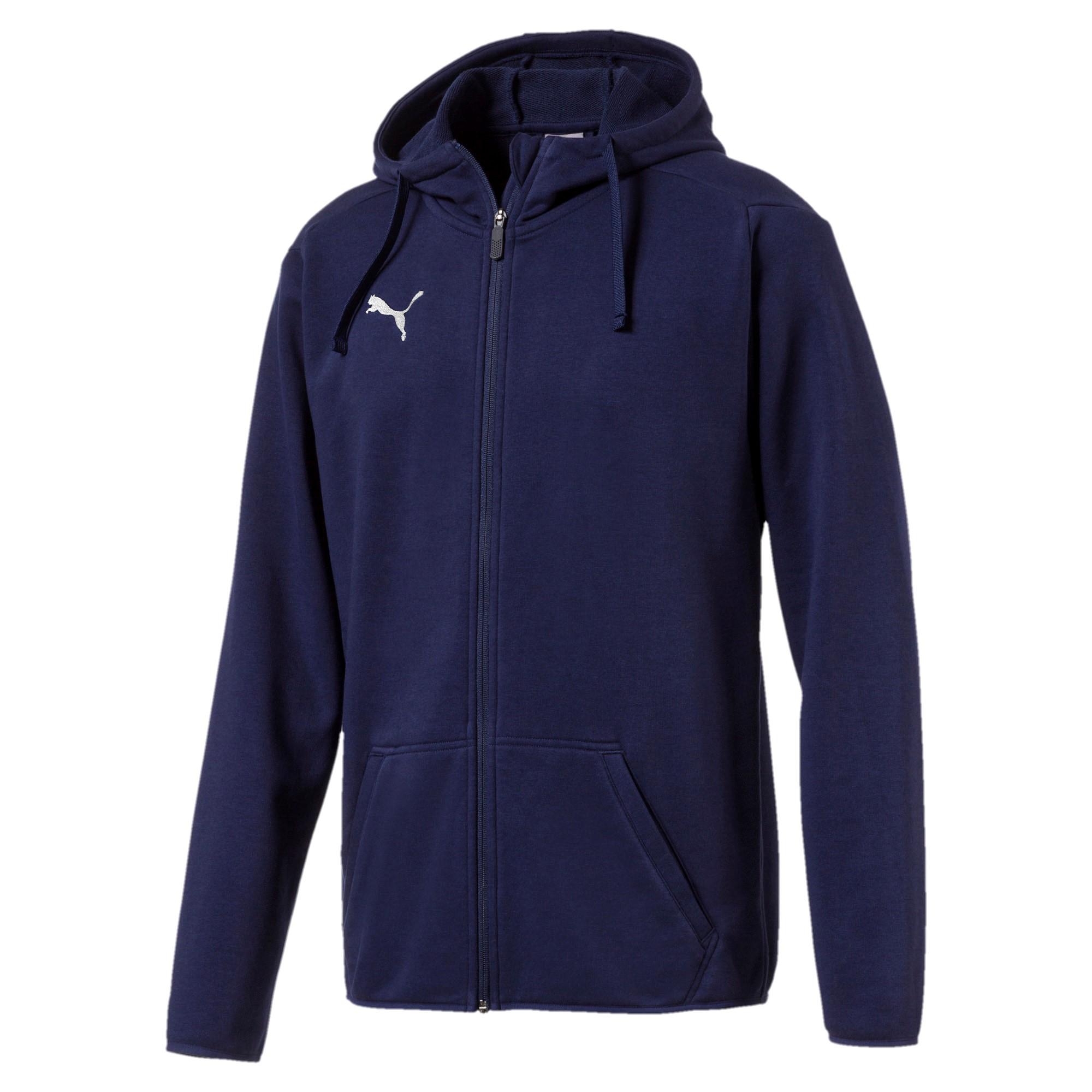 Ligua Casual Hoody Jacket Blue